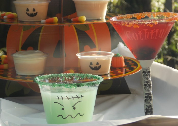 Halloween Cocktails Closeup