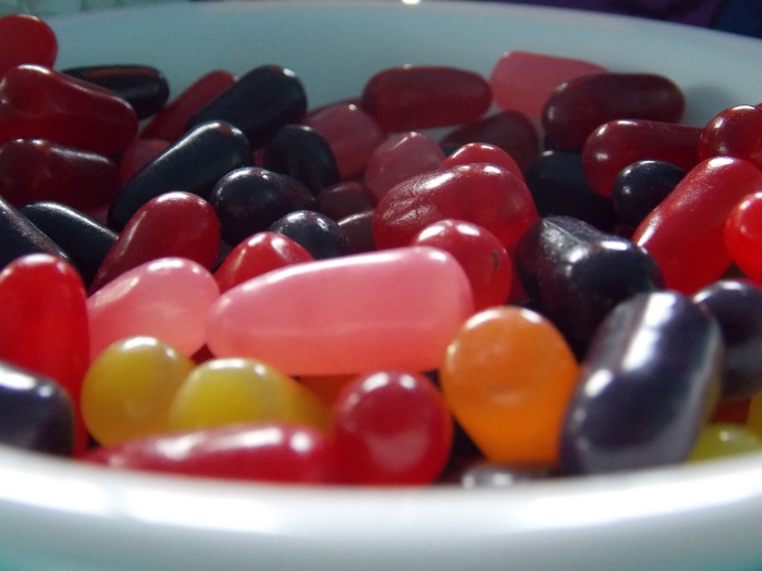 Mike And Ike Halloween Candy Closeup