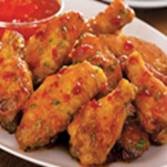 SWEET CHILI ASIAN CHICKEN WINGS