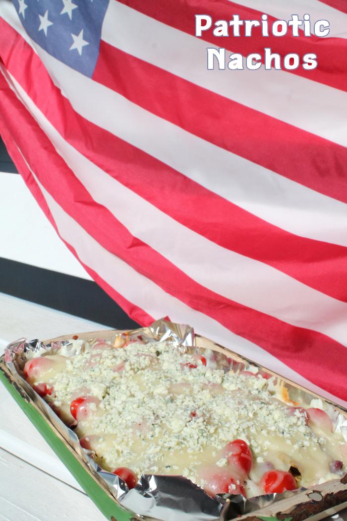 Patriotic Nachos
