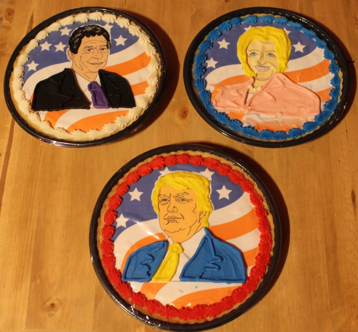 2016 election cookie cakes