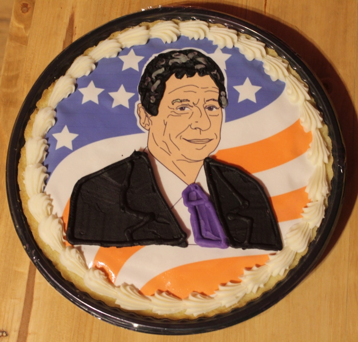 Gary Johnson cookie cake